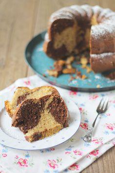 *Mara's: Hazelnut marble cake