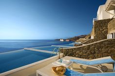 GREECE CHANNEL |  Mykonos Greece....This is my kind of relaxation.