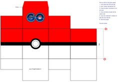 Pokémon go doosje Pokemon Party, Pokemon Birthday, Pokemon Go, Folder Diy, Valentine Box, Classroom Fun, Boy Birthday Parties, 7th Birthday, Diy Crafts For Kids