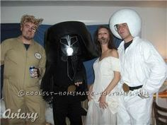 Ultimate Spaceballs Group Costume... This website is the Pinterest of costumes