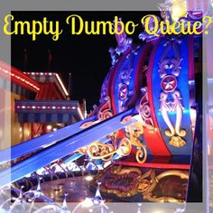 Thanksgiving at Disney: A Trip Report - Day 8 - Empty Dumbo Queue? (What's the new Interactive Dumbo Queue like? Storybook Circus - Magic Kingdom - Walt Disney World)