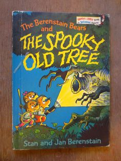 The Berenstain Bears and the Spooky Old Tree (1978) by Stan and Jan Berenstain - Vintage Childrens Book