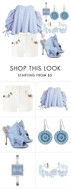"""""""Untitled #894"""" by exow ❤ liked on Polyvore featuring Moschino, N°21, Tarina Tarantino, DKNY and Forever 21"""