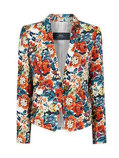 New in: The printed blazer