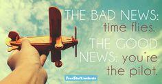 The Good News - FreeStuff.Website - http://freestuff.website/daily-inspirational-quotes/the-pilot.html