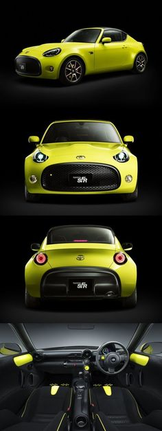 Toyota S-FR Concept #toyotaclassiccars