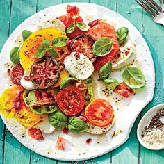 Hot Bacon Caprese Salad | MyRecipes.com