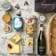 Christmas Farmer's Basket Hamper £80 by Daylesford. A super gift for a foodie; unlike many hampers this features 'fresh' components and only available for delivery on two dates, still saves you having to actually visit a market!