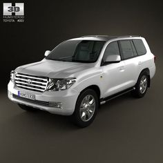 Toyota Land Cruiser 200 3d model from humster3d.com. Price: $75
