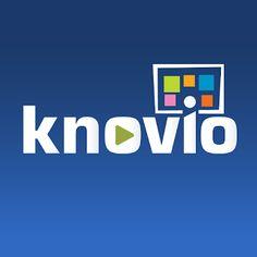 """CREAR UN VÍDEO-PRESENTACIÓN CON """"KNOVIO""""."""