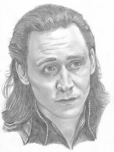 Here we have Loki, drawn from a screencap from the Avengers. I thought Loki was a great villain- likable at first, with a proper reason to turn evil, an. Drawing Cartoon Characters, Character Drawing, Cartoon Drawings, Cool Drawings, Pencil Drawings, Horse Drawings, Pencil Art, Marvel Avengers, Marvel Fan Art