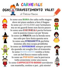 A Carnevale ogni travestimento vale! Continua sul sito https://www.patrizianencinidee.com/
