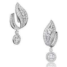 Boucles d'oreilles diamants Adler