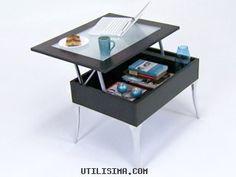 Decoración | Grandes ideas - espacios chicos | Mesa extensible | Utilisima.com