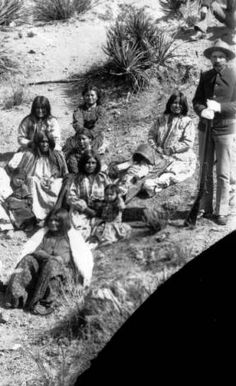 Chiricahua Indian prisoners at Ft. Bowie, Arizona Territory :: Western History