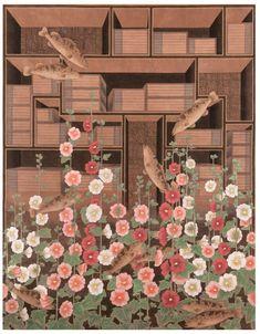Pencil Illustration, Graphic Illustration, Geisha Art, Japanese Graphic Design, Korean Art, Traditional Paintings, Colored Pencils, Creative Art, Painting & Drawing
