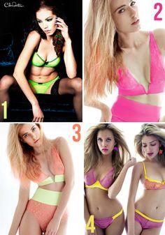 #neon #lingerie
