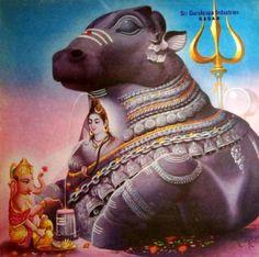 Ganesha, Shiva & Mysore Nandi Sri Gurukrupa Idustries Sagar (via Pinterest: Bhavesh Katira)