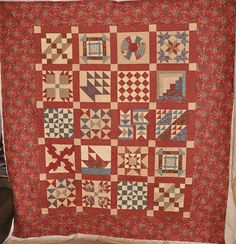 Underground Railroad Quilt for Shelley B. by spinningspoolsquilts, via Flickr I like the colors she used.