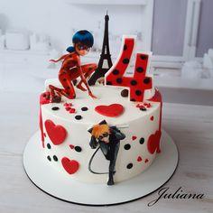 Ladybug Cake Pops, Ladybug Cakes, Owl Cakes, Miraculous Ladybug Party, Cake Decorating Videos, Chocolate Art, Cake Pictures, Creative Food, Cinderella Cakes