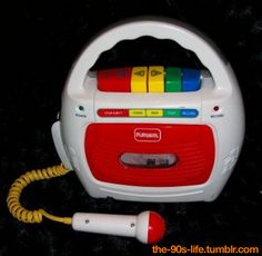 First cassette player. I believe my music consisted of Sesame Street jams
