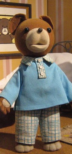 Miś Uszatek is a Polish character from the stop motion-animated TV series of the same name. He was created jointly by Polish writer Czesław Janczarski and cartoonist Zbigniew Rychlicki.