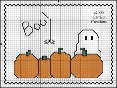 Boo Cross Stitch