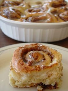 no yeast cinnamon rolls - I just made them & they are CRAZY good; I keep dry buttermilk in the fridge for recipes just like this, 'cause u never have it when u need it -kudos to the person who invented this recipe!!! I will love you forever!!