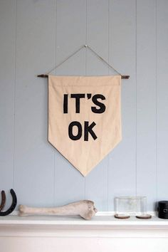 it IS ok.....great decor.....my wall should be a friggin wall of encouraging words for all
