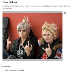 The one time hetalia cosplay gets mistaken for a hipster post << God…