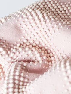 Soft pink haptic textile Textures Patterns, Color Patterns, Textile News, Space Projects, 3d Printed Jewelry, Textiles, Modular Design, Fabric Manipulation, Line Design