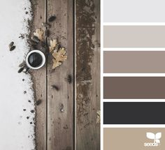 winter tones - colour palette