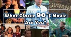 "What Classic 90's Movie Are You? --- I got Titanic. ""old-fashioned, you are a daydreamer and soul out of time"""