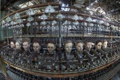 Abandoned Doll Factory, Spain There is not much for recorded history about this place, but one thing for certain is that it is one of the creepiest abandoned places. With disassembled doll parts everywhere, this place is something out of a horror movie..