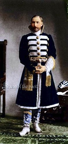 Count Alexei Moussine-Pushkin at the Winter Palace Costume Ball of 1903.
