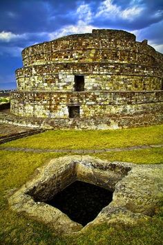 Temple Aztèque de Calixtlahuaca (Mexique)