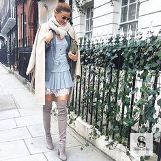 «Layering in London . 😘 Today with Ramona Filip, Max Mara, Shades Of Grey, Chloe, Duster Coat, Layers, Zara, Shirt Dress, London