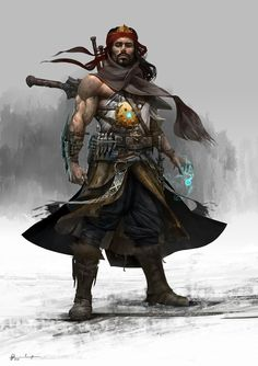 ArtStation - Mohsen Malakooti's submission on Ancient Civilizations: Lost & Found - Character Design