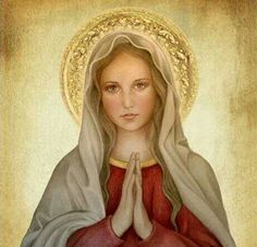 """...""""Dulce Corazón de Maria. ..sed la Salvación del alma mía""""...."""