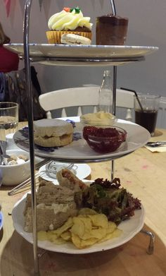 Gluten free afternoon tea at Mad Hatters Tea Room, Chester, Cheshire
