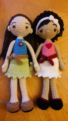 Make your own Darcy fashion doll using my adorable free pattern. They are quick and easy to whip up.