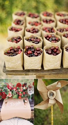 Ideas para decorar la boda con papel kraft