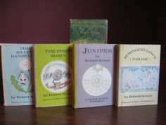 Hard to Find Bunny's Nutshell Library Miniature Books