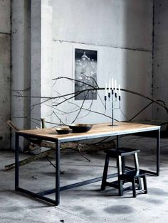 Form table by House Doctor DK — BODIE and FOU - Award-winning inspiring concept store Design Furniture, Metal Furniture, Table Furniture, Furniture Inspiration, Interior Inspiration, Diy Tisch, Casa Loft, Interior Architecture, Interior Design