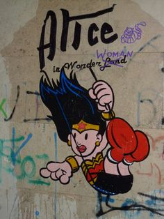 Alice in wonderWOMAN rome 2013