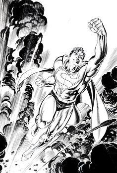 Original cover art by Jerry Ordway from Wizard the Comics Magazine Superman…