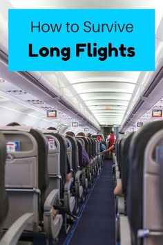 The ultimate guide on how to survive a long flight in economy- what to wear, carry-on bag essentials and other long-haul flight tips. ******************************************** Long Flights Tips Packing Tips For Travel, Travel Advice, Budget Travel, Travel Hacks, Packing Lists, Travel Expert, Travel Stuff, Travel Quotes, Carry On Bag Essentials