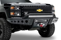 2014 - 2015 Chevy Silverado 1500 Stealth Winch Front Bumper: ADD Offroad - The leaders in Aftermarket & Off Road Truck Bumpers Chevrolet Silverado 2014, Chevy Stepside, Chevy Pickups, 2015 Silverado 1500, Lifted Silverado, Chevy 4x4, Custom Chevy Trucks, Lifted Chevy Trucks, Dually Trucks