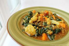 """Curried French Lentils - at """"Straight Up Foods"""" website...great info for whole-foods, plant-based living."""