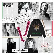 honey, i rose up from the dead, i do it all the time by enchantedmist on Polyvore featuring polyvore, fashion, style, Gucci, Christian Louboutin, River Cottage Gardens, Louisville Slugger, Pennyblack, GET LOST and clothing
